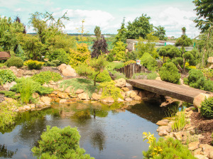 Mšec – Ukázková zahrada
